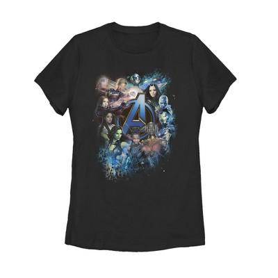 Women's Marvel Avengers: Endgame Heroine Poster T-Shirt
