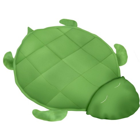 Covered In Comfort Weighted Fleece Turtle Blanket, 4 Pounds - image 1 of 3