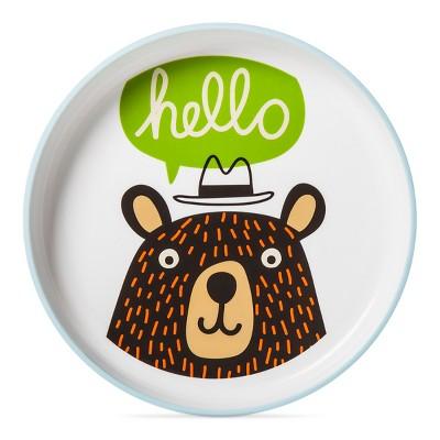 Bear Decal Dinner Plate 7.37  - Pillowfort™