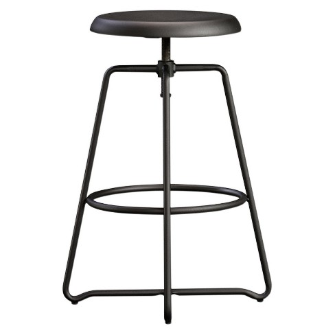 Astounding Carson Forge Adjustable Counter Stool Seating Black Sauder Pdpeps Interior Chair Design Pdpepsorg