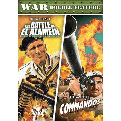 War Double Feature: The Battle Of El Alamein / Commandos (DVD) - image 1 of 1