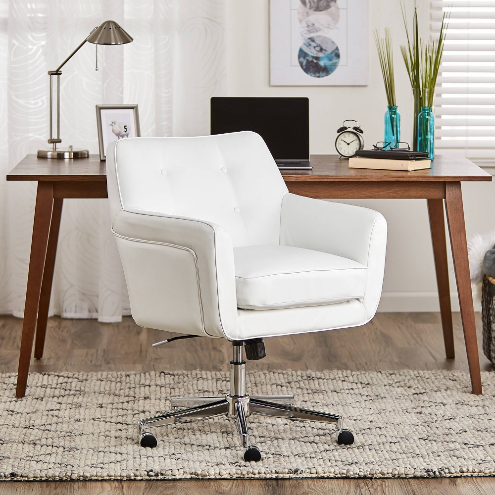 Style Ashland Home Office Chair Clean White - Serta was $409.99 now $266.49 (35.0% off)