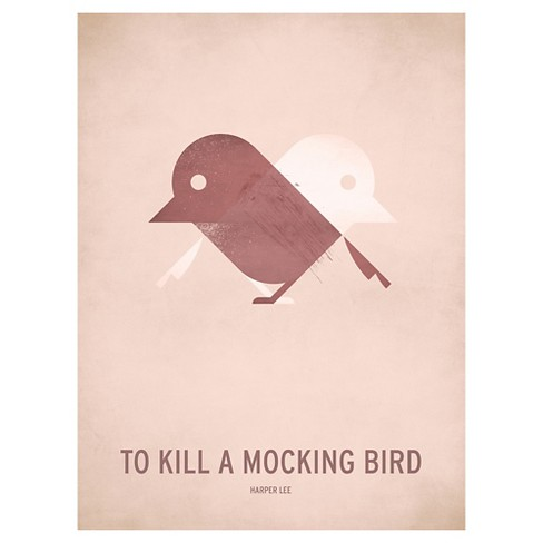 To Kill a Mocking Bird Minimal by Christian Jackson Unframed Wall Art Print - image 1 of 2
