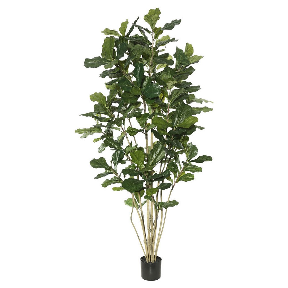 Artificial Potted Fiddle Tree (7ft) Green - Vickerman