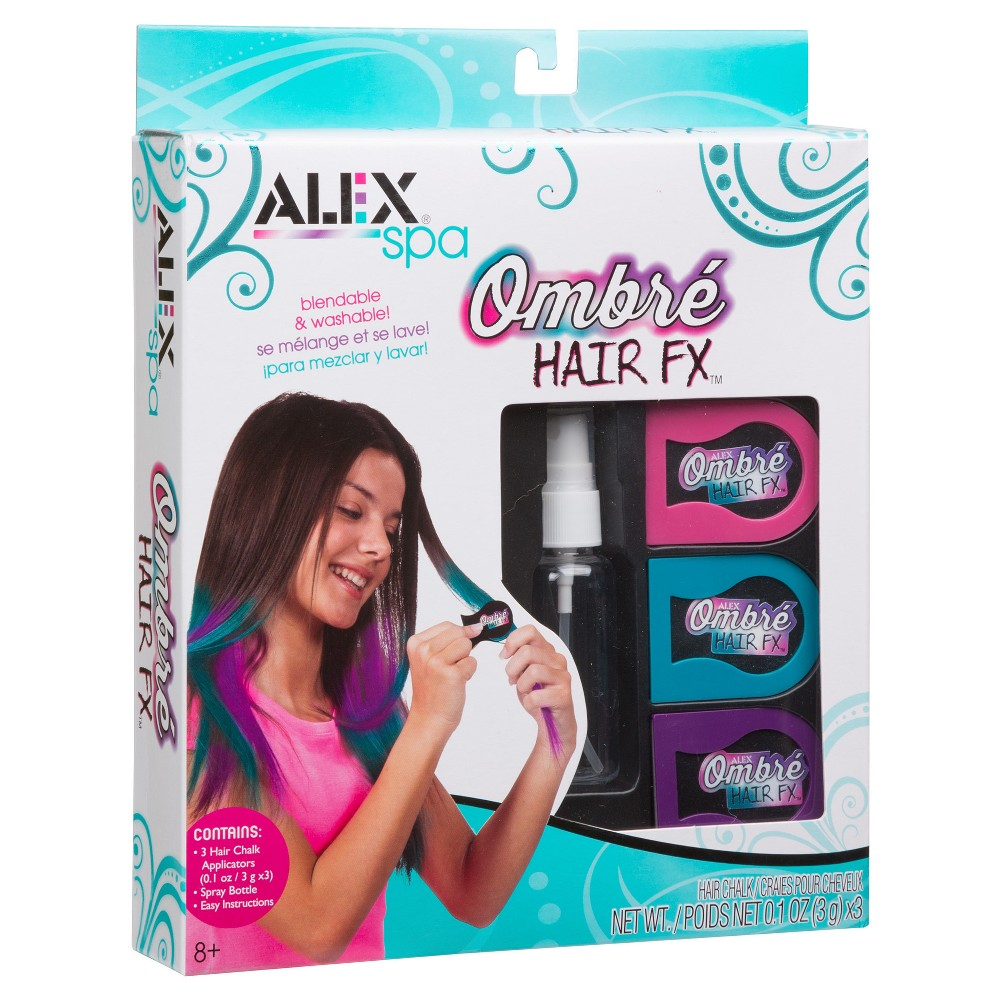 Image of Alex Spa Ombre Hair FX, craft activity kits