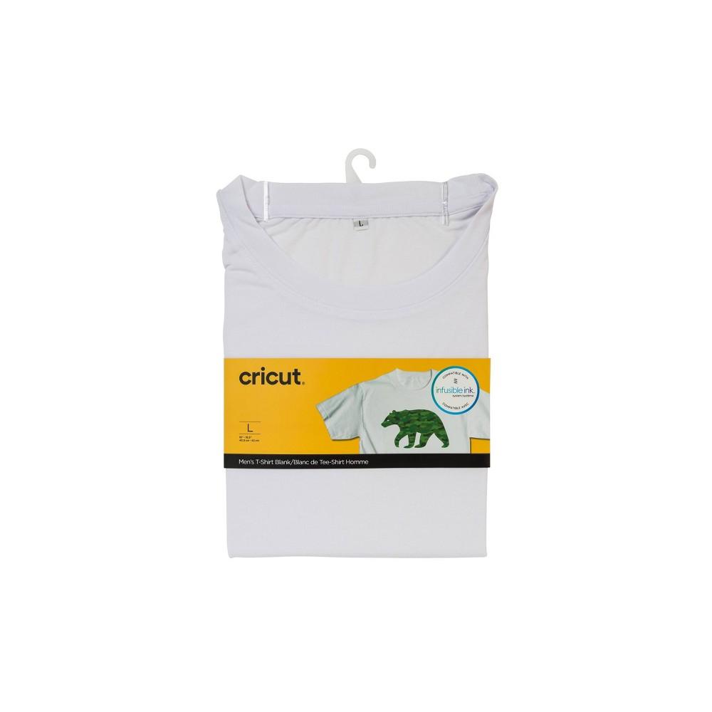 Cricut Round Neck T-Shirt White - Large