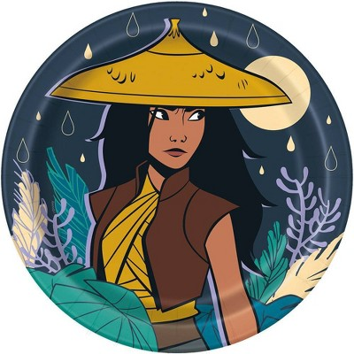 """Raya and the Last Dragon 9"""" 8ct Dinner Paper Plates"""