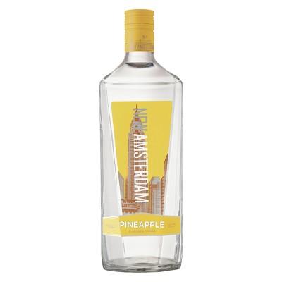 New Amsterdam Pineapple Flavored Vodka - 1.75L Bottle