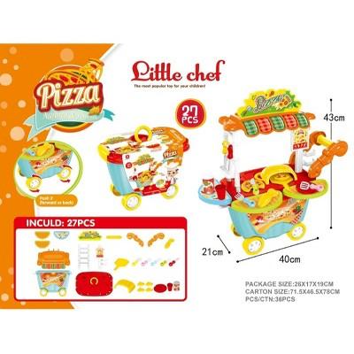 """Northlight 27-Piece Little Chef Pizza Box Kitchen Playset Children's Toy 16.75"""""""