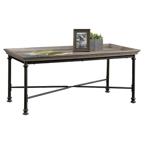 Canal Street Coffee Table - Northern Oak - Sauder - image 1 of 4