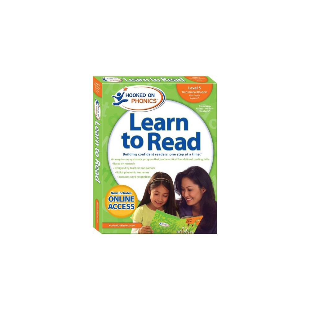 Hooked on Phonics Learn to Read Level 5 First Grade Ages 6-7 : Transitional Readers (Paperback)
