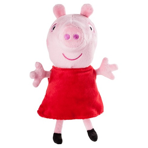 "Peppa Pig 6"" Plush with Sound - Peppa - image 1 of 1"