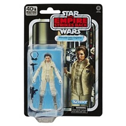 Star Wars The Black Series Princess Leia Organa (Hoth) Toy Action Figure