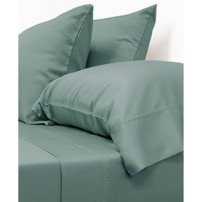 Queen 100% Rayon from Bamboo Classic Sheet Set Green - Cariloha