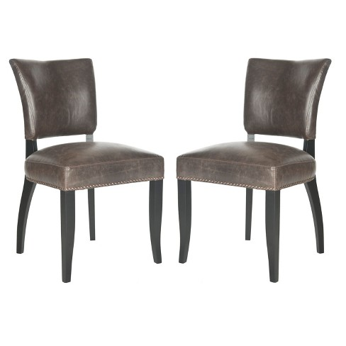 Dining Chair Wood/Brown (Set of 2) - Safavieh® - image 1 of 5