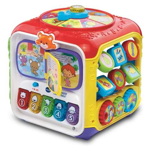 VTech Sort and Discover Activity Cube - image 1 of 4