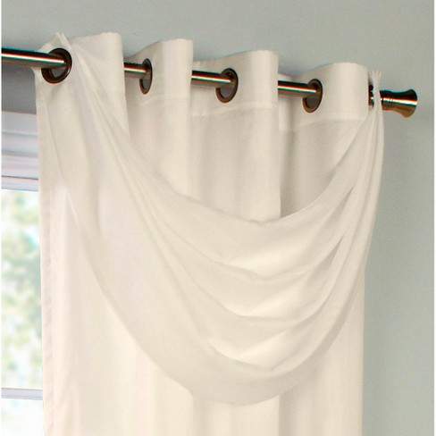 Thermavoile™ Rhapsody Lined Grommet Crescent Valance - image 1 of 1