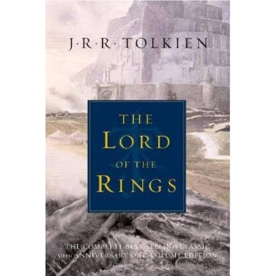The Lord of the Rings - 50th Edition by  J R R Tolkien (Hardcover)