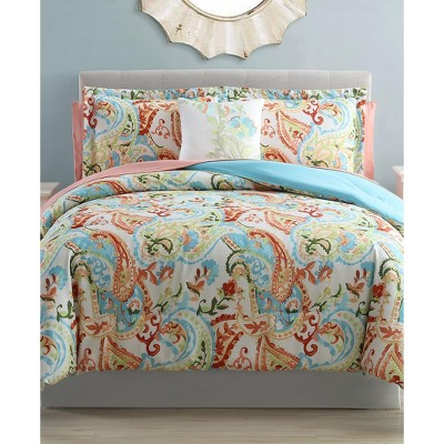 Modern Threads 6-Piece Printed Reversible Complete Bed Set Kailyn.