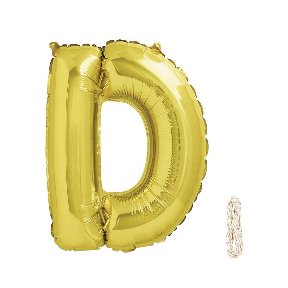 "Image of ""16"""" D Foil Balloon Gold - Spritz , Kids Unisex"""