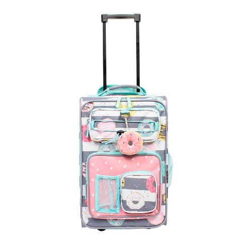 """Crckt 18"""" Kids Carry On Suitcase - Donut - image 1 of 4"""
