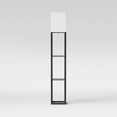 Shelf Floor Lamp Black - Threshold™