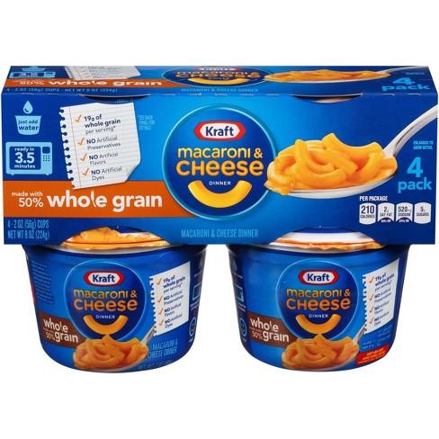 Kraft Whole Grain Macaroni Cheese 2
