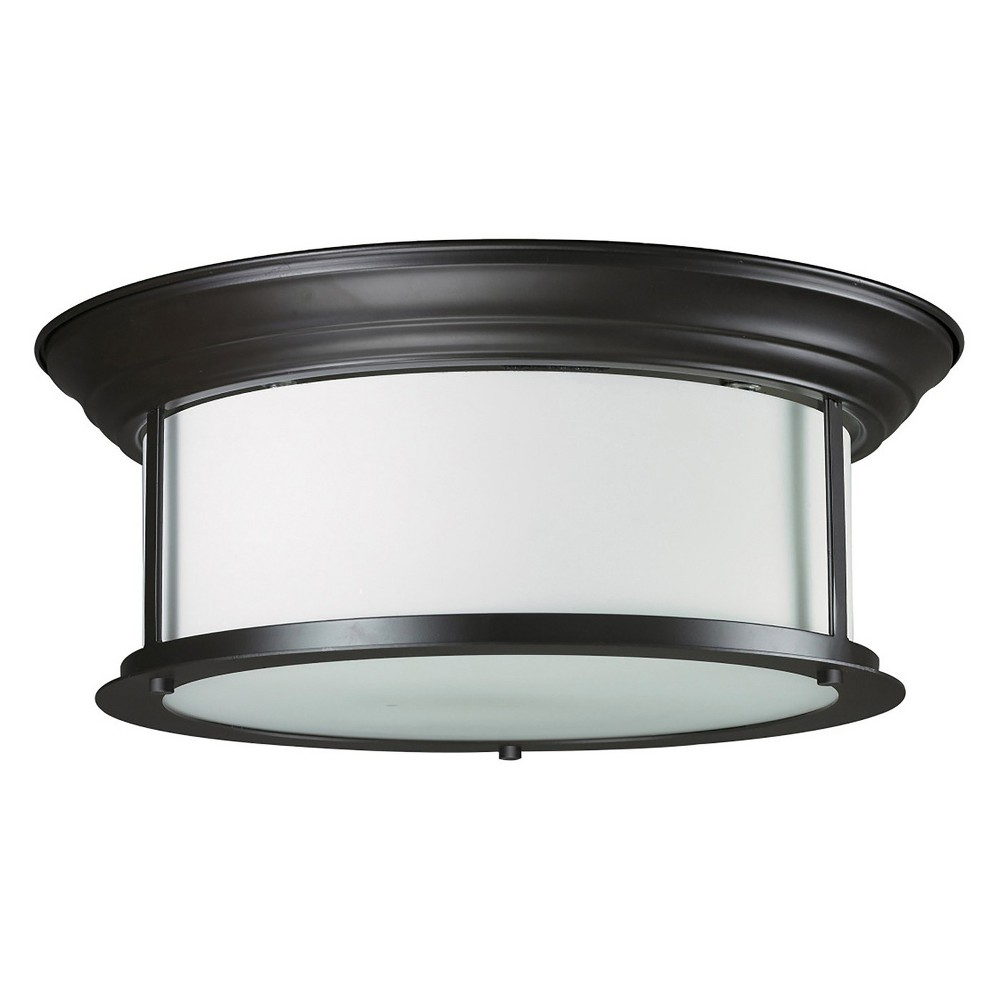 Ceiling Lights with Matte Opal Glass (Set of 3) - Z-Lite