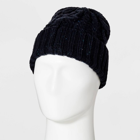 Men's Cable Nep Beanie - Goodfellow & Co™ - image 1 of 1
