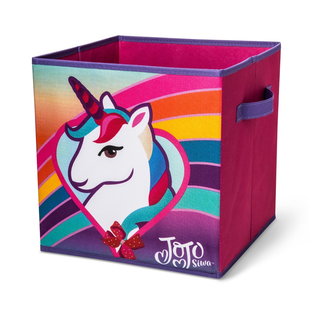 Image of JoJo Siwa Kids Storage Bin Pink