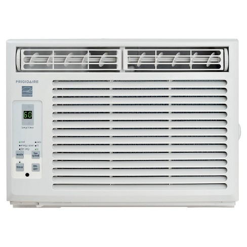 Frigidaire - 5000-BTU Window-Mounted Mini-Compact Air Conditioner with Full-Function Remote Control - White - image 1 of 7