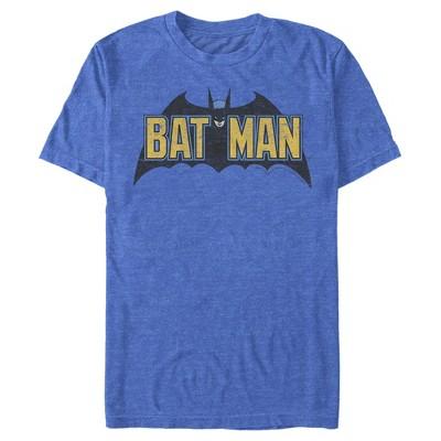 Men's Batman Caped Crusader Logo T-Shirt