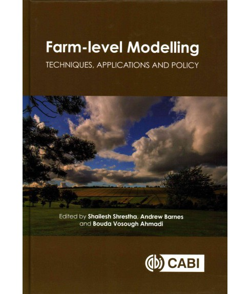 Farm-level Modelling : Techniques, Applications and Policy (Hardcover) - image 1 of 1