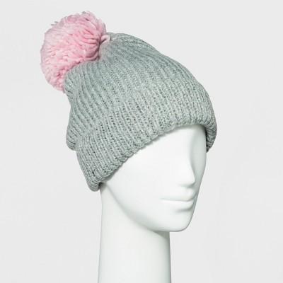 7ea22a6d62fd3 Women s Knit Beanie With Pom – Wild Fable™ Gray – BrickSeek