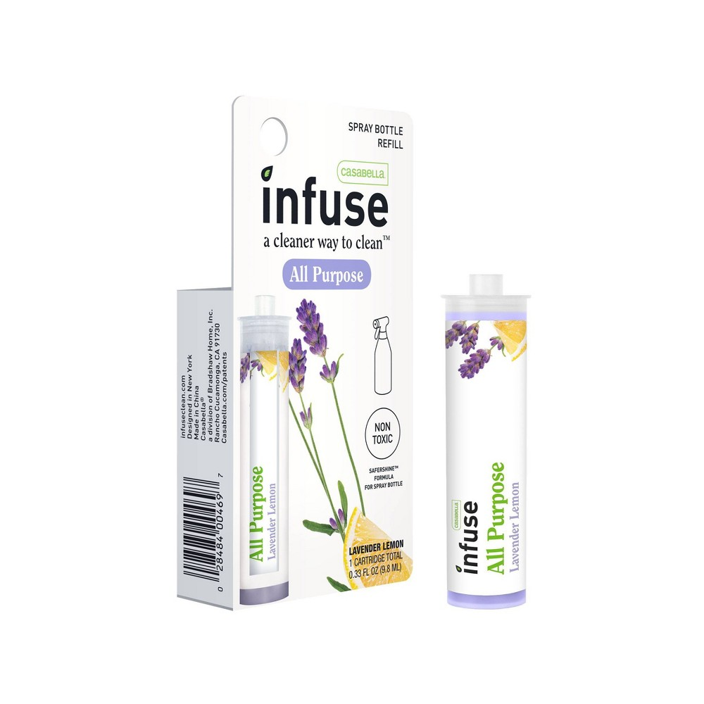 Casabella Infuse Lemon Lavender Scented All Purpose Cleaning Concentrate - .33oz