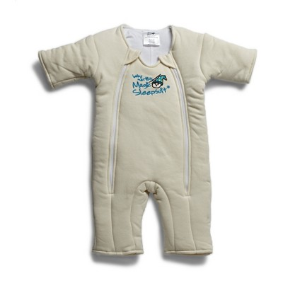 Baby Merlin's Magic Sleepsuit Swaddle Blanket 3 to 6 months - Fresh Cream