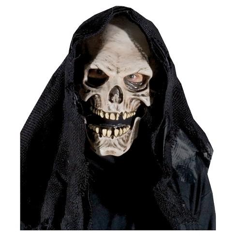 Grim Reaper Costume Mask Target