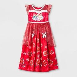 Toddler Girls' Disney Princess Pajama Nightgown - Red
