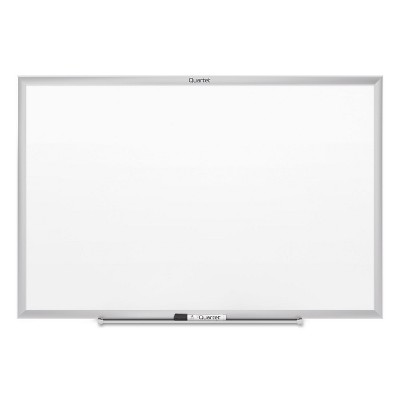Quartet Classic Series Magnetic Whiteboard 60 x 36 Silver Frame SM535