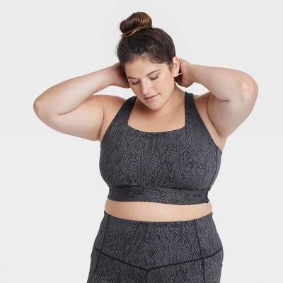 Women's Plus Size Medium Support Crossback Bra - All in Motion™