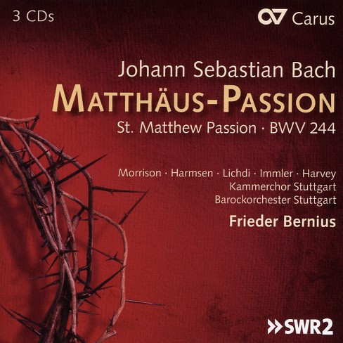 Frieder bernius - Bach:St matthew passion (CD) - image 1 of 1