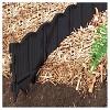 Border Master Poundable Lawn Edging Black - Black - Master Mark Plastics - image 2 of 2