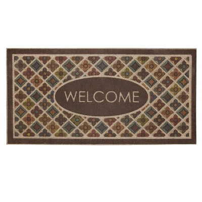 2'x4' Ornamental Entry Mat Flowery Tiles - Mohawk