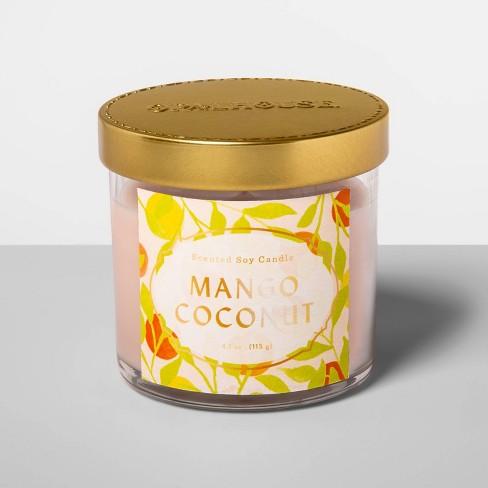4.1oz Glass Jar Candle Mango Coconut - Opalhouse™ - image 1 of 2