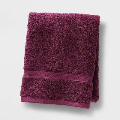 Soft Solid Hand Towel Maroon - Opalhouse™