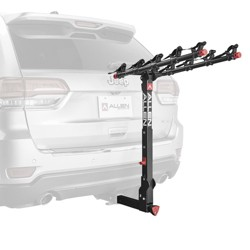 "Allen Sports 850QR Deluxe + Locking Quick Release 5-Bike Carrier for 2"" Hitch"
