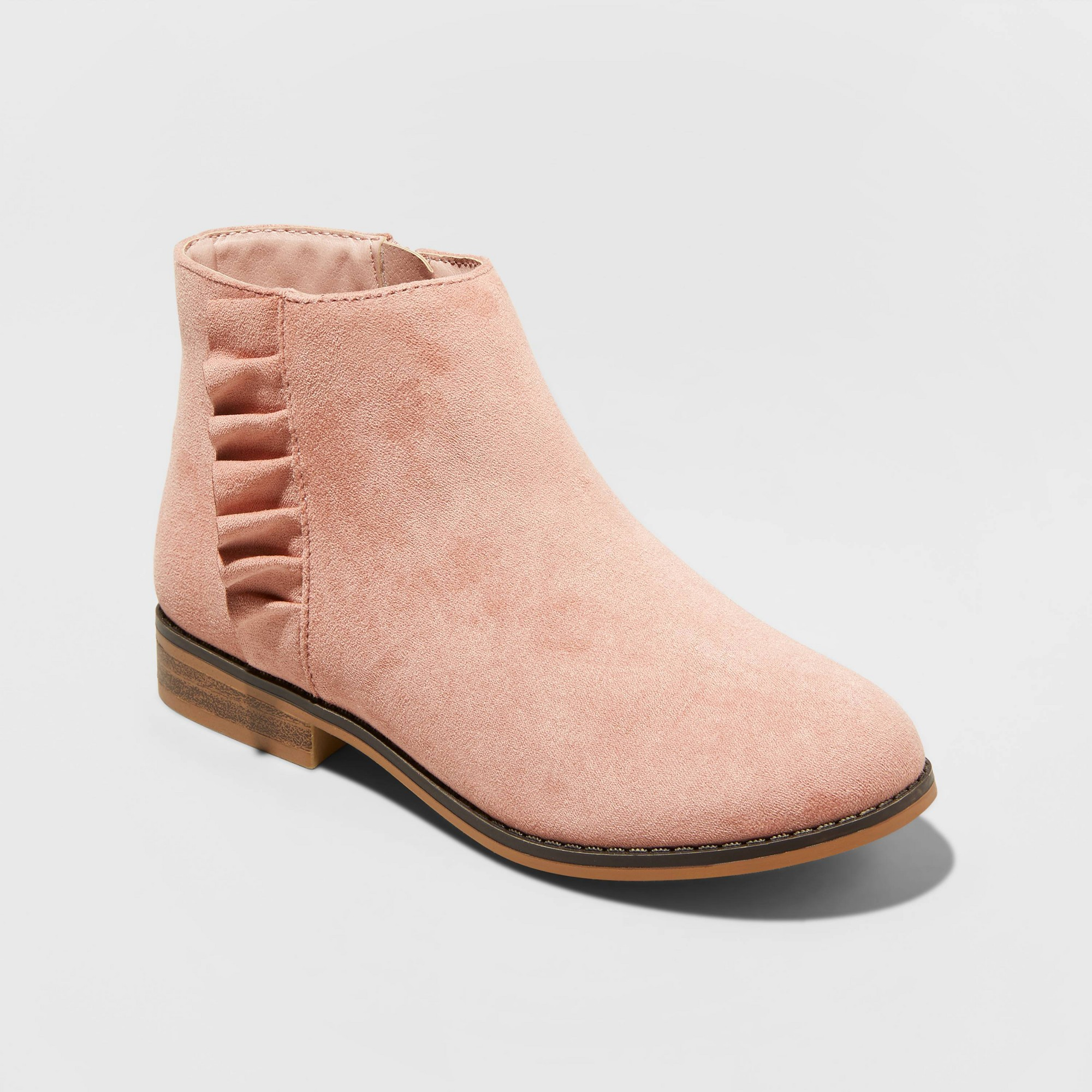 Girls' Euna Fashion Boots - Cat & Jack Pink 5