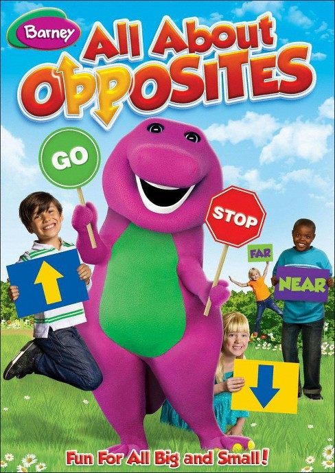 Barney: All About Opposites (dvd_video) - image 1 of 1