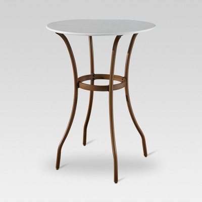 French Café Bar-Height Patio Bistro Table - Threshold™