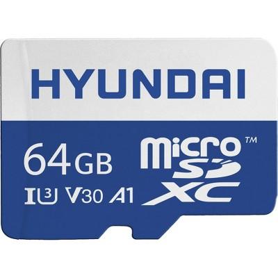 Hyundai MicroSD 64GB U3 4K Retail w/Adapter